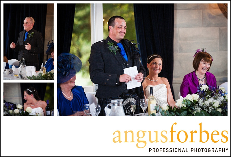 Forbes of Kingennie photographer 0531 Fernie Castle Wedding Sarah and Neil