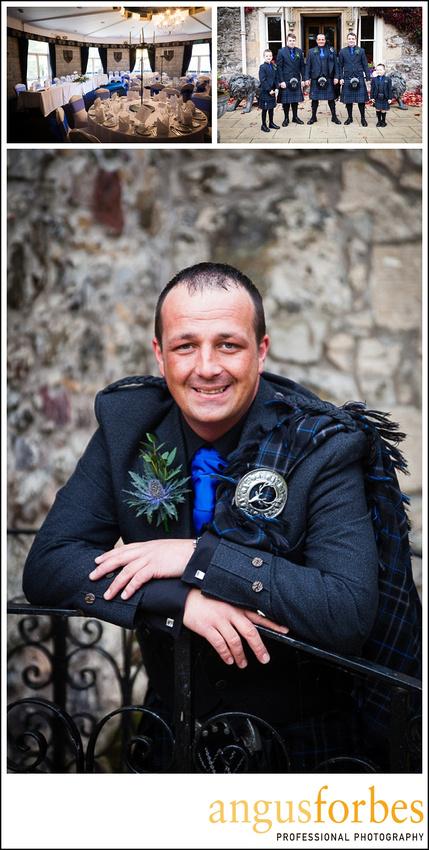 Forbes of Kingennie photographer 0521 Fernie Castle Wedding Sarah and Neil