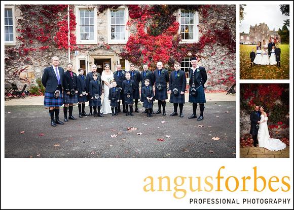 Forbes of Kingennie photographer 0527 Fernie Castle Wedding Sarah and Neil
