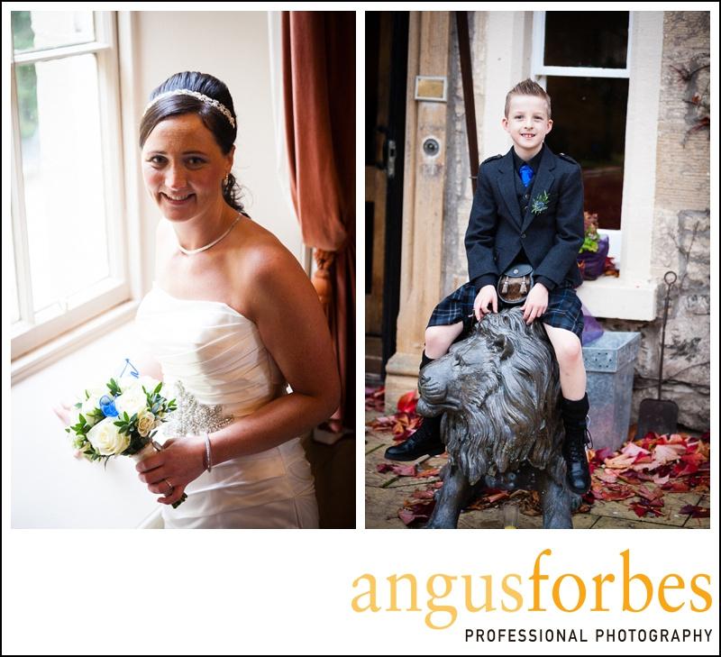 Forbes of Kingennie photographer 0530 Fernie Castle Wedding Sarah and Neil