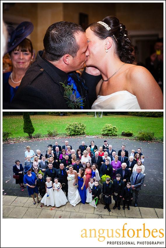 Forbes of Kingennie photographer 0526 Fernie Castle Wedding Sarah and Neil