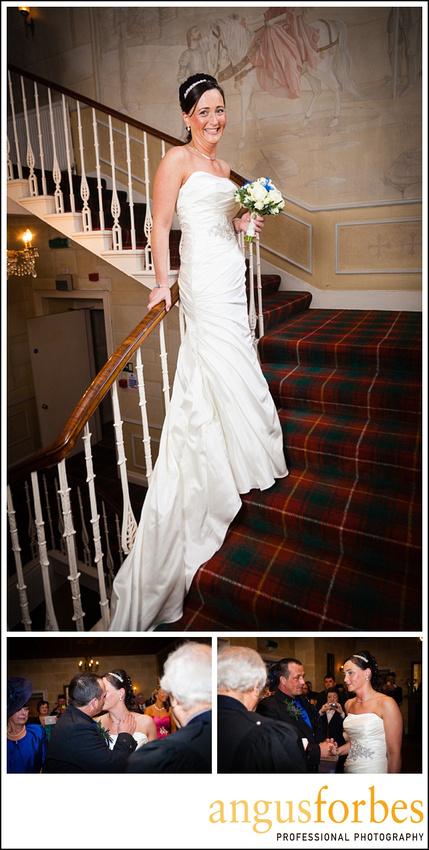 Forbes of Kingennie photographer 0525 Fernie Castle Wedding Sarah and Neil